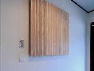 studio m+ by masato fujii Ingresso, Corridoio & Scale in stile asiatico