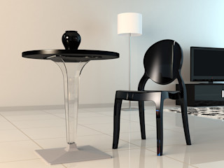 Coffee Meuble Dining roomTables Black