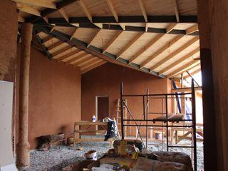 ALIWEN arquitectura & construcción sustentable - Santiago Country style living room