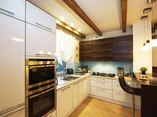 Студия интерьера 'SENSE' İskandinav Mutfak Beyaz