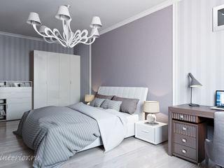 Студия интерьера 'SENSE' Eklektik Yatak Odası Beyaz