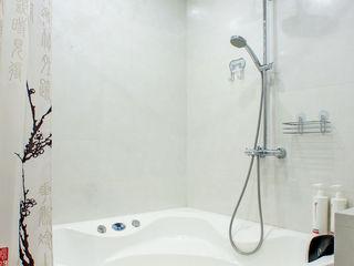 Студия интерьера 'SENSE' Eklektik Banyo Beyaz