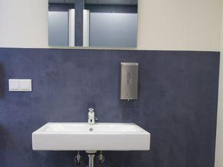 Matthias Koch Malermeister Bangunan Kantor Modern Beton Blue