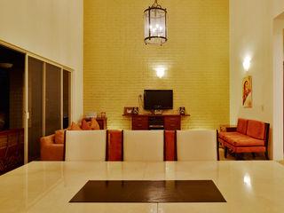 residencia Gallardo Excelencia en Diseño Comedores coloniales Ladrillos Beige