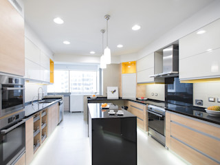 Duo Arquitectura y Diseño Dapur Modern Granit Yellow