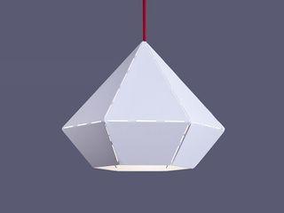 Skapetze Lichtmacher Living roomLighting Metal White