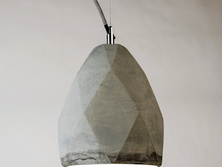 Skapetze Lichtmacher Living roomLighting Concrete Grey