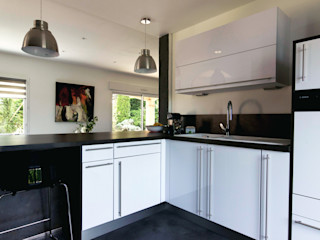 E/P ESPACE DESIGN - Emilie Peyrille KitchenBench tops Concrete White