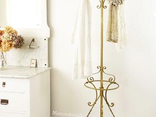 Maisondora Vintage Living Gang, hal & trappenhuisKapstokken & garderobes Metaal Amber / Goud