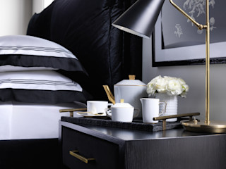 SS16 Style Guide - Refined Monochrome Collection LuxDeco BedroomBedside tables Black
