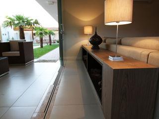 BRAVIM ◘ RICCI ARQUITETURA Modern living room