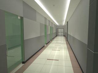 FyA Arquitectos インダストリアルな 玄関&廊下&階段