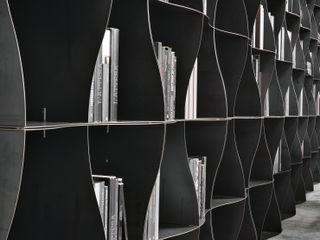 BandIt Design Офісні приміщення та магазини Залізо / сталь Сірий