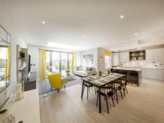 Winchester semi detatched Studio Hooton Modern kitchen