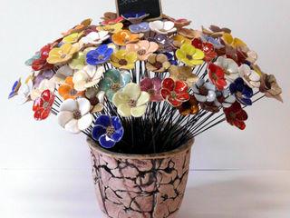 fair-art Steffen Karol Balconies, verandas & terraces Accessories & decoration Ceramic Multicolored