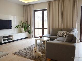 Modify- Architektura Wnętrz Modern Living Room