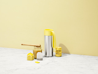 Connox ЇдальняПосуд та посуд Жовтий