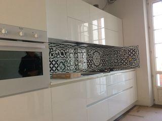 CEAR Ceramiche Azzaro & Romano Srl Minimalist kitchen Ceramic Green