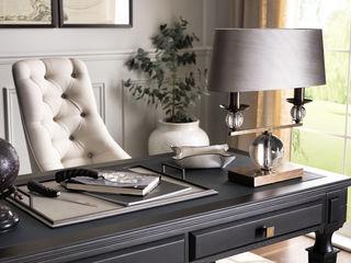 SS16 Style Guide - Coastal Elegance - Home Office/Study LuxDeco Landelijke studeerkamer Beige