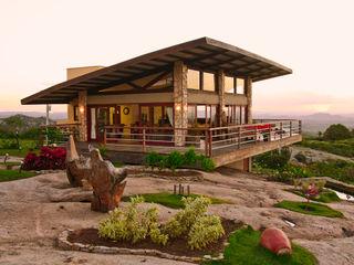 Duo Arquitetura Rumah Gaya Country Wood effect
