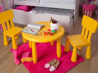Idea Interior Dormitorios infantiles Escritorios y sillas Plástico Amarillo