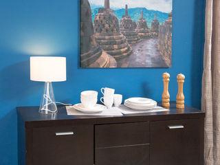 Idea Interior ComedorBuffet y cómodas Aglomerado Negro