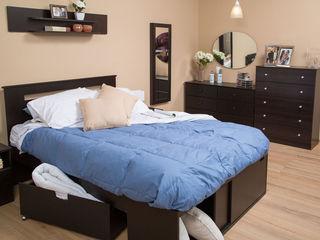 Idea Interior DormitoriosClósets y cómodas Aglomerado Negro