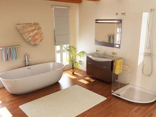 ALI-CURA Baños de estilo moderno