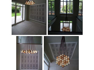 Cangini e Tucci Corridor, hallway & stairsLighting Glass