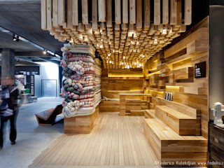Matealbino arquitectura Modern commercial spaces
