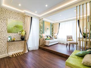 Tony House Interior Design & Decoration Egzotyczny salon
