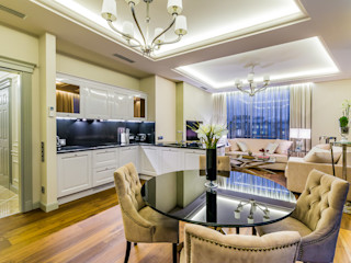 Tony House Interior Design & Decoration Eklektyczny salon