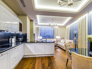 Tony House Interior Design & Decoration Eklektyczna kuchnia