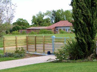 Aménagement bois Constans Paysage Jardin moderne