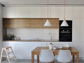Architekt wnętrz Klaudia Pniak Cocinas de estilo moderno
