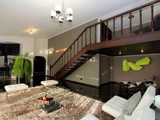 Arq Renny Molina Moderne Wohnzimmer