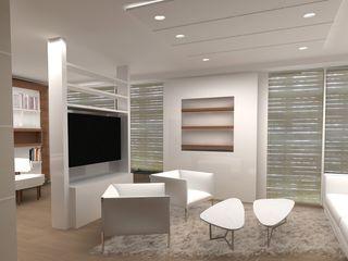 Living Comedor Recoleta Interiores y Muebles Livings modernos: Ideas, imágenes y decoración Beige