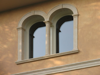 Grassi Pietre srl Classic windows & doors Stone Amber/Gold