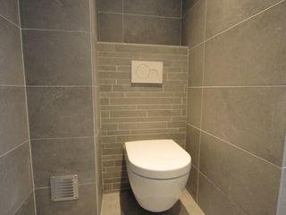 AGZ badkamers en sanitair Modern bathroom Ceramic White