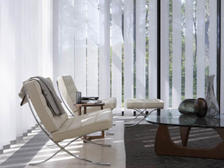 L&S arquitectos Living roomAccessories & decoration Synthetic White