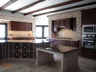 H-abitat Diseño & Interiores Classic style wine cellar Wood Beige