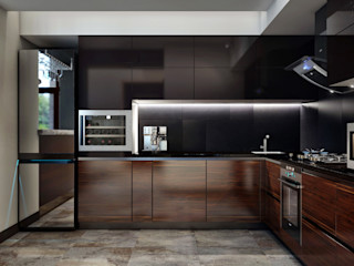 Sweet Home Design Scandinavian style kitchen Wood