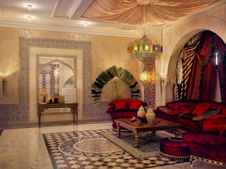 Sweet Home Design Asian style living room