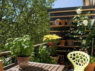 studio jan homann Balcones y terrazas escandinavas