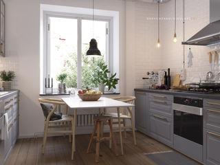 Shevchenko_Nikolay Cocinas de estilo escandinavo