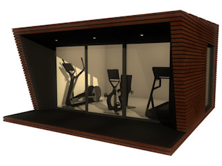 Le Fitness Cube Athletica Design Salle de sport moderne
