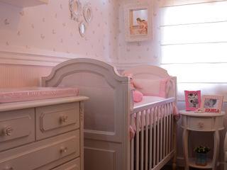 Camila Chalon Arquitetura Kamar Bayi/Anak Klasik Pink