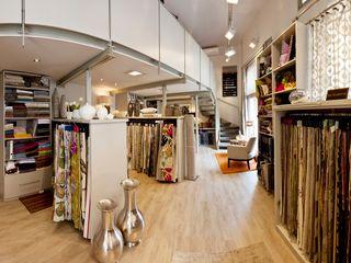 Raum+Textil Decoration GmbH Office spaces & stores Textile Multicolored
