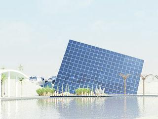 Studio la Piramide Architettura e Urbanistica Salas multimídia ecléticas Vidro Metalizado/Prateado