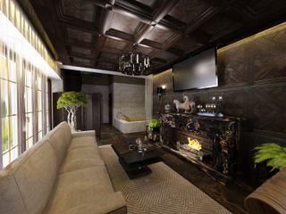 Студия дизайна Натали Хованской Modern Living Room